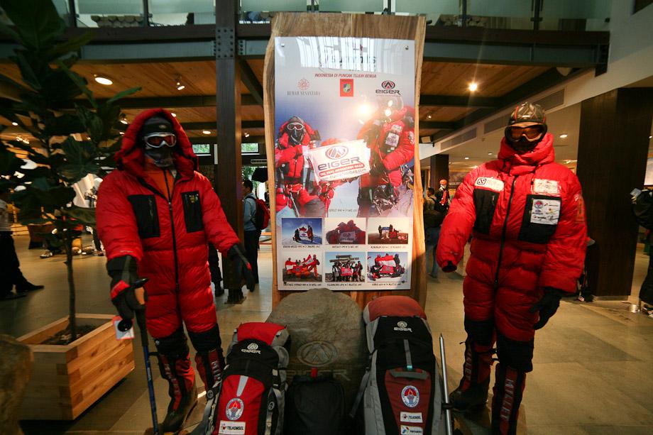 Perlengkapan ekspedisi 7 Summit Eiger