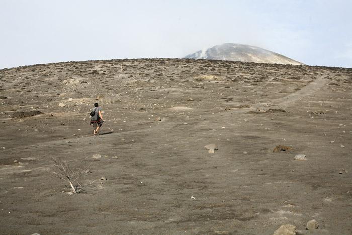 Pendakian singkat menuju anak krakatau