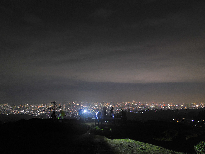 Kota Bandung dari bukit Moko | BenQ G1