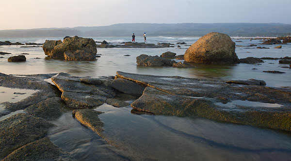 Pantai Tanjung Layar - Desa Sawarna. Bukan pantai Sawarna!