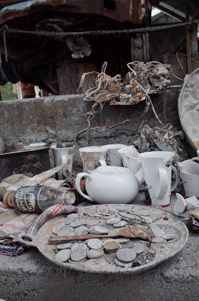 Puing-puing yang dijadikan 'museum'