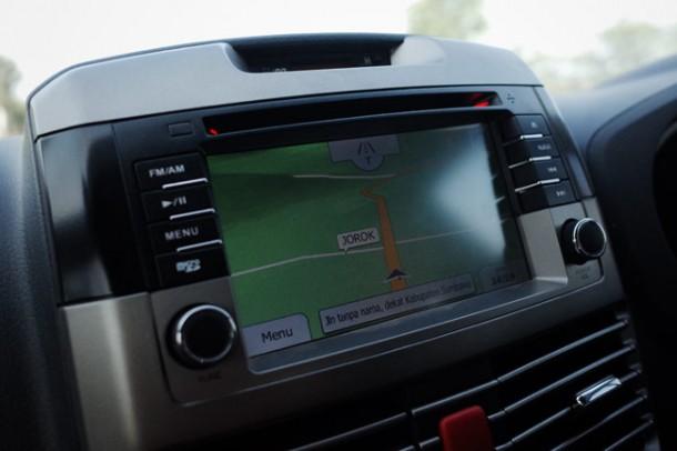 GPS nya jorok...
