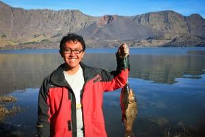 Fishing at the lake, got big one!