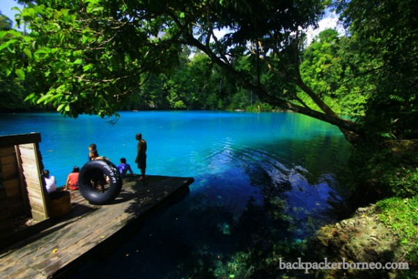 Danau labuan cermin by backpackerborneo.com
