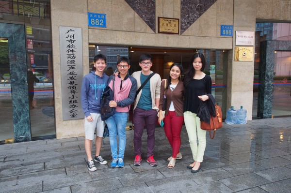 Teman-teman PPI tiongkok cabang guangzhou.