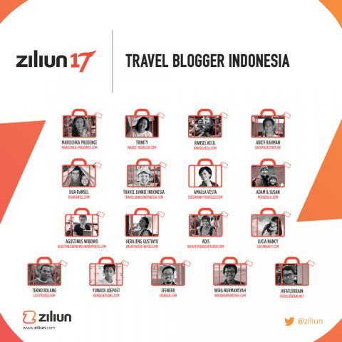 travel blogger indonesia yang wajib follow