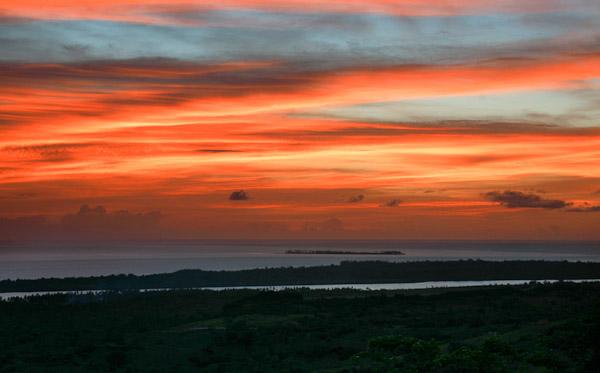 Bukit Tomia Sunset