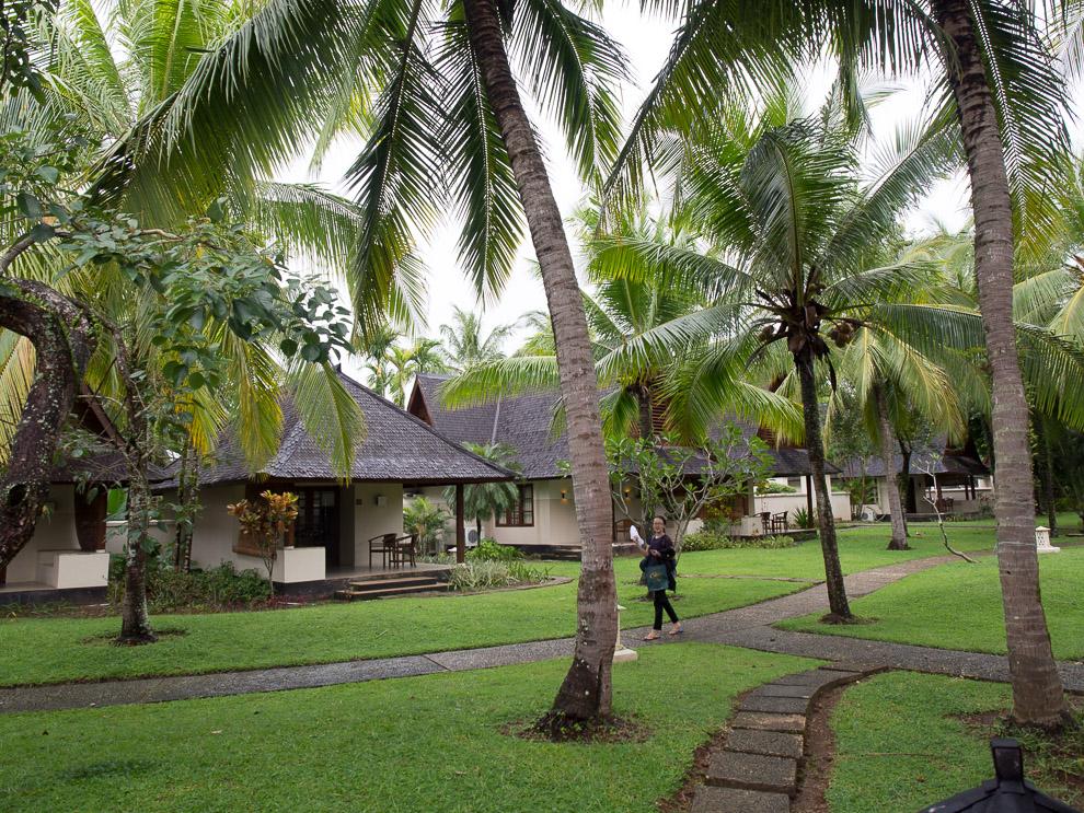 Kamar-kamar di Tanjung Lesung Beach hotel