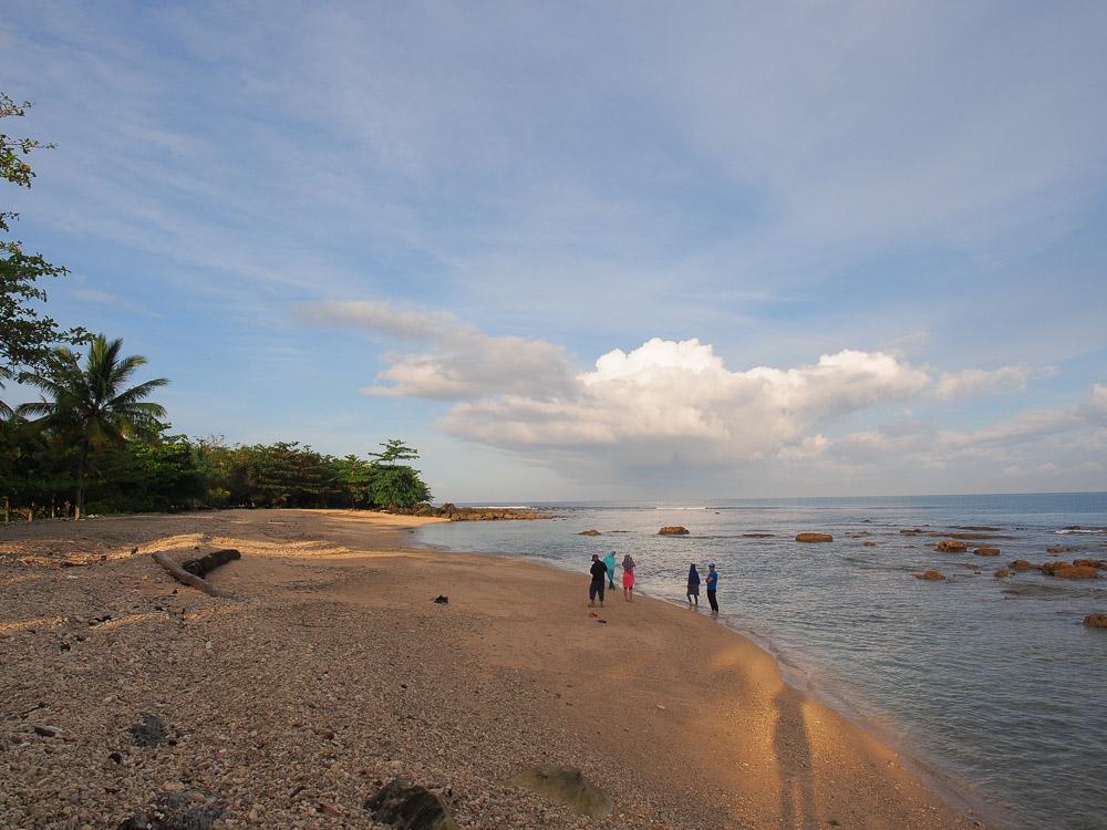 Selamat pagi dari Tanjung lesung.
