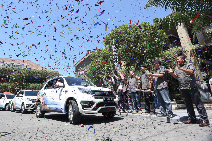 Test drive new Terios di Bali dimulai dari Kuta