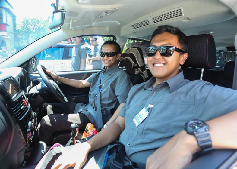 media test drive new terios bali