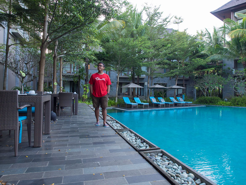 Hotel courtyard nusa dua bali