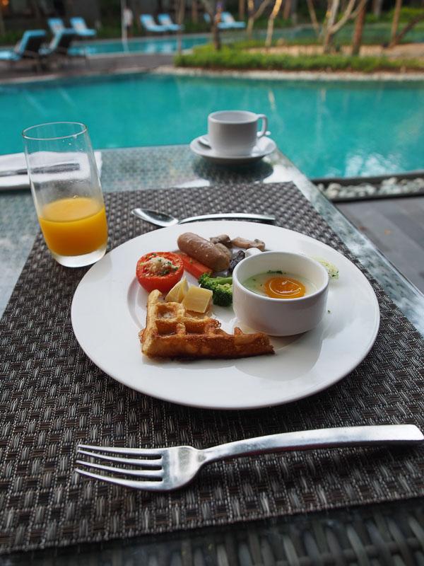 makanan Hotel Courtyard Marriot Nusa Dua