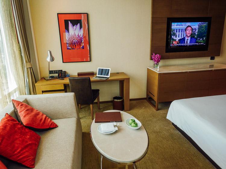 Kamar premium deluxe di lantai 24