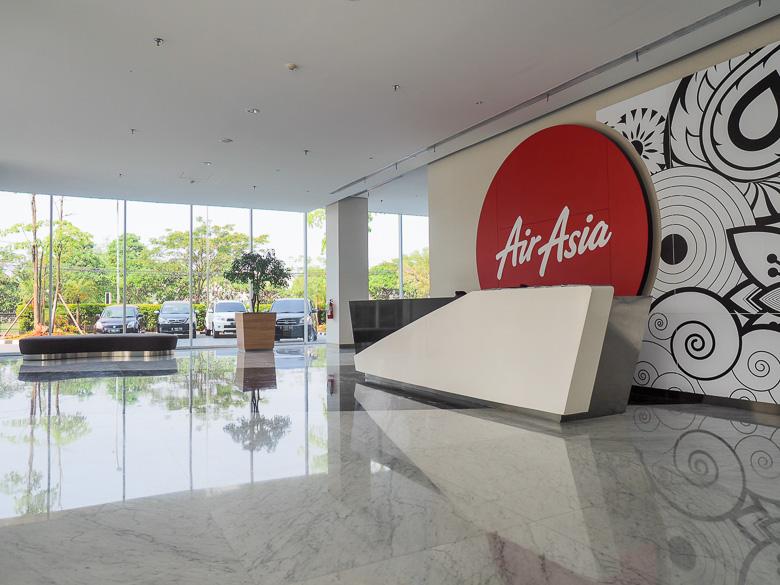 Lobby depan air asia