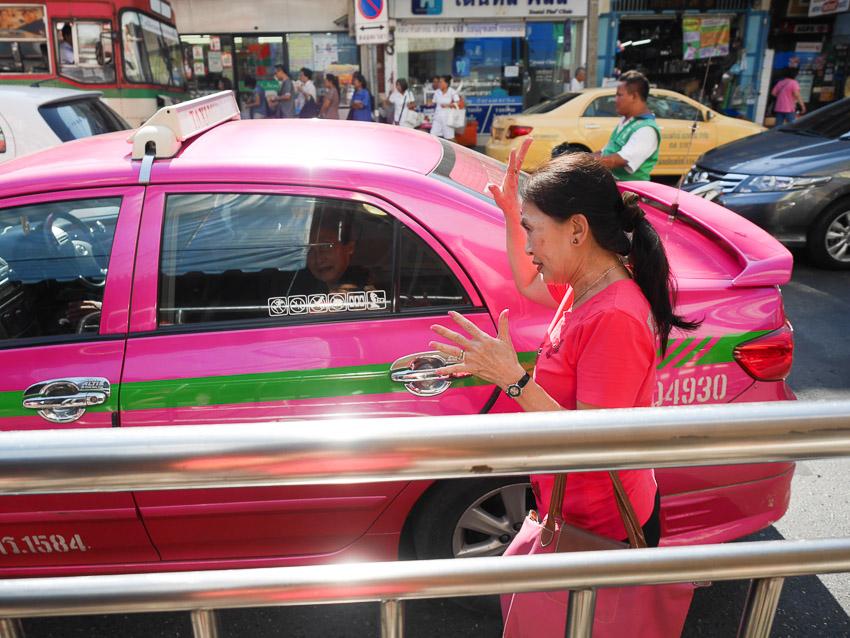 taksi di bangkok