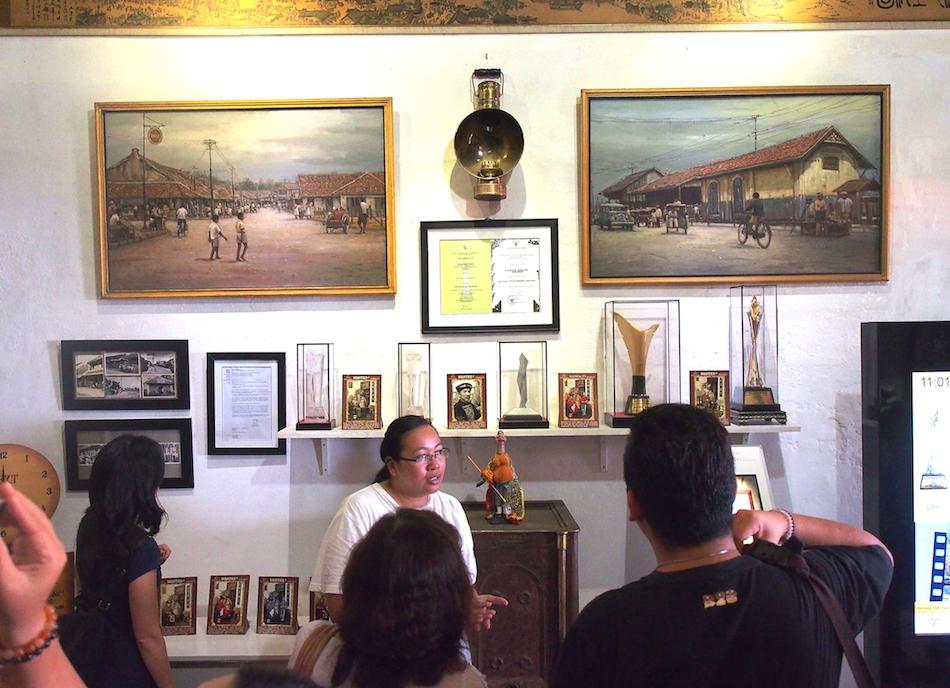 Tour di dalam Museum Benteng Heritage wisata tangerang