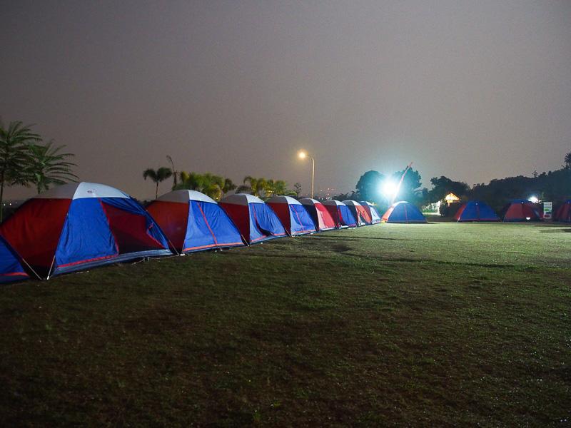 Tenda kamu yang mana?