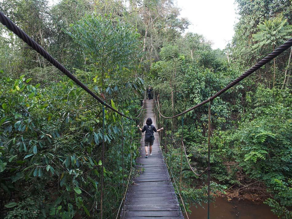 Meniti Jembatan Gantung