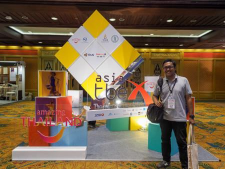 TBEX Asia 2015 di Quenn Sirikit Convention Center, Bangkok.