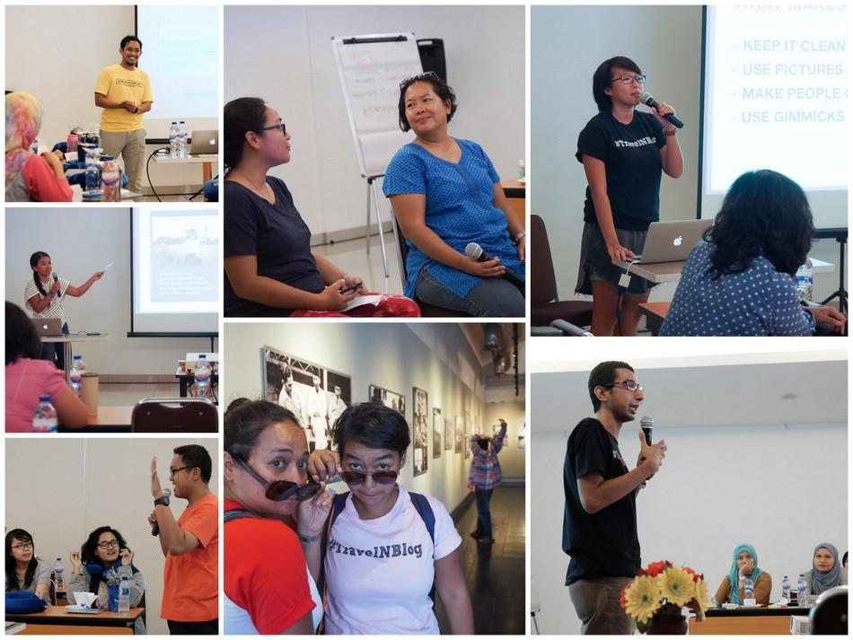 Beberapa pembicara #travelnblog 4 Jakarta