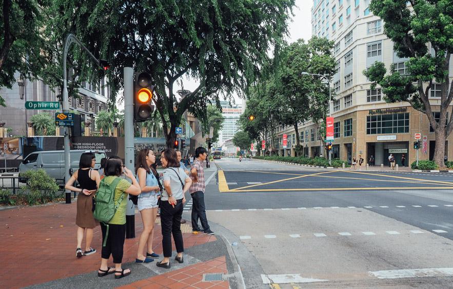 jalan jalan singapura
